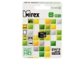 Память Micro SecureDigital Memory Card 8GB Mirex SDHC Class 10 (