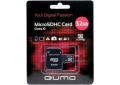Память Micro SecureDigital Memory Card 32GB QUMO SDHC Class 10+а