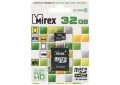 Память Micro SecureDigital Memory Card 32GB Mirex с адаптером SD