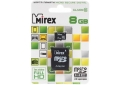 Память Micro SecureDigital Memory Card 8GB Mirex с адаптером SDH